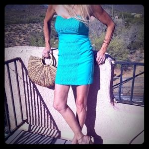 Turquoise Green cotton dress